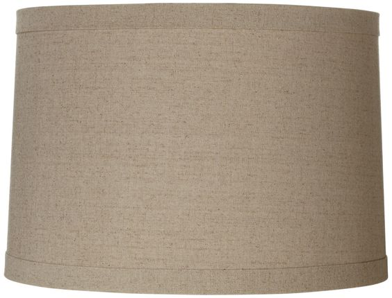 Springcrest™ Natural Linen Drum Shade 15x16x11 (Spider) | Products ...
