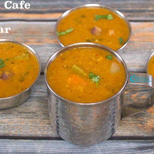 Madras Ratna Cafe Sambar Recipe How To Make Ratna Cafe Style Sambar Recipe Recipes Idli Sambar Idli