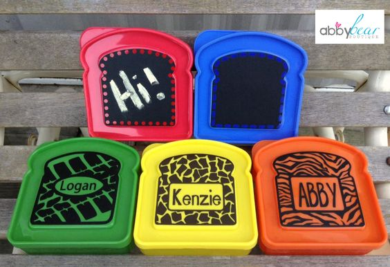 Mix and match prints and colors! Or pick the chalkboard option so you can leave the kid's an not  www.facebook.com/abbybearboutique