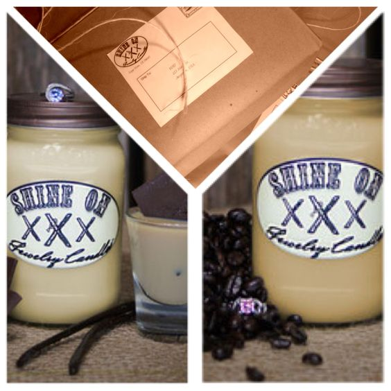 Burn Together Coffee Jewelry Candle and Irish Cream Jewelry Candle<3 mmmm coffee house smell (20% off entire purchase code for new customers NEW2014)