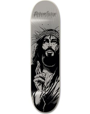 """This deck features:  Width: 7.75""""W - 8.5""""W  Weight: 4lbs.  Wood deck  Reliance and Siren skateboards are the platforms from which the TOP 15 christian skateboarders minister to a culture of people that only a few can influence! Through the use of their talent of skateboarding, these Christian skateboarders help reach a lost world!"""