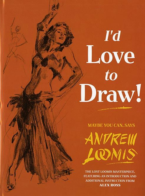 Talking with Alex Ross about Andrew Loomis' How To Draw books and their influence