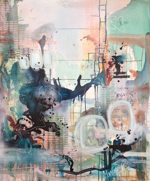 Galleri Ose Abstrakt Abstract Painting Maling