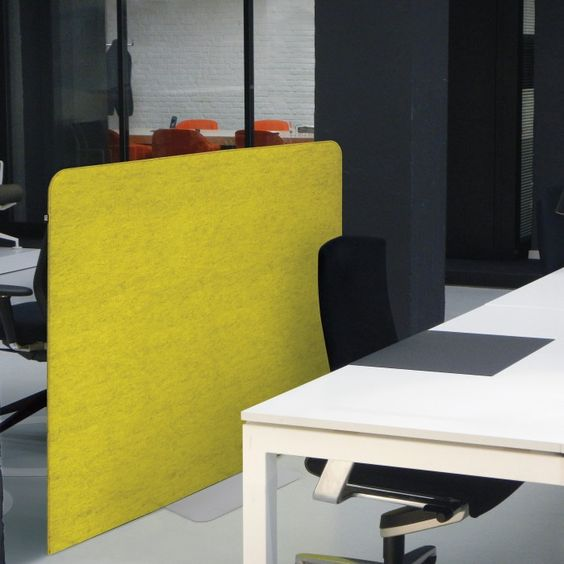 BuzziFree BuzziSpace Office space divider, acoustical felt - design schallabsorber trennwande