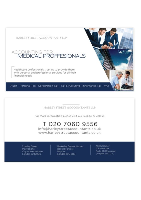 Harley Street Accountants are here to help you with your financial issues.
