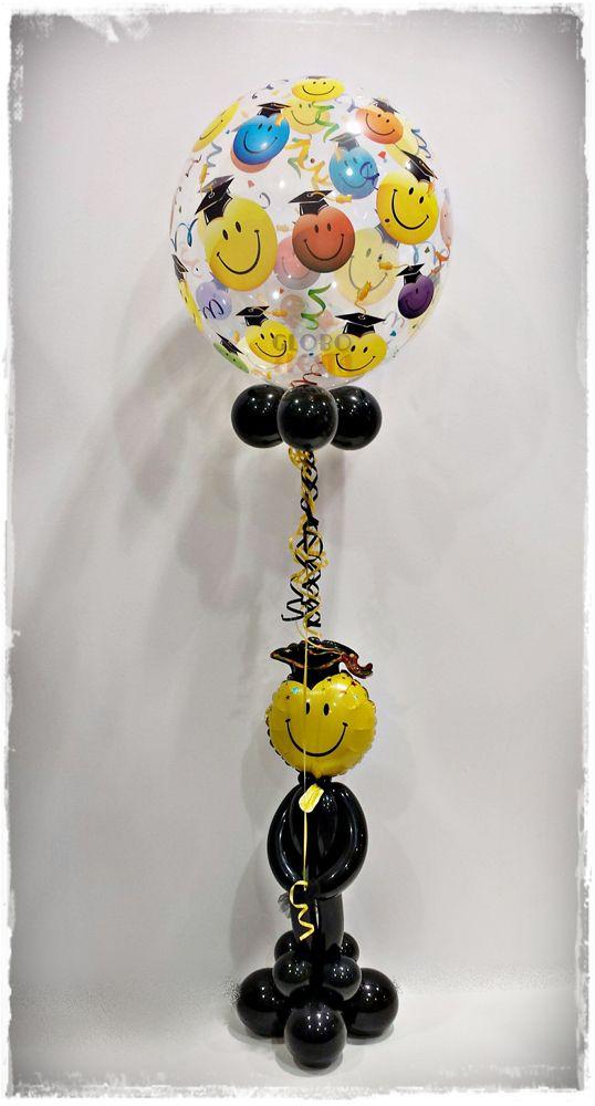 Decoraci n con globos ideal para for Decoracion grado universidad