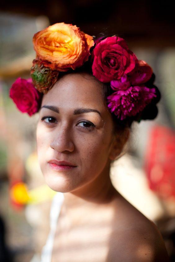 Shooting d'inspiration mariage Dia de los Muertos - Fleurs: Cyrille de Nature des sens - Photo: Garance et Vanessa - La Fiancée du Panda blog Mariage et Lifestyle