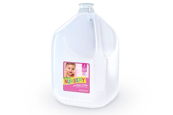 Nursery Water Without Added Fluoride Is A Purified Processed By Steam Distillation Ptpa Seal Of Roval Winners Pinterest