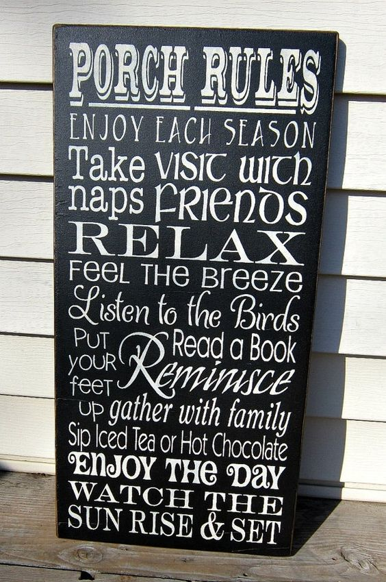 lake sign ideas: Deck Ideas, Wood Signs, Lake Sign, Sign Ideas, Front Porch Signs, House Idea, Porch Ideas, Front Porches