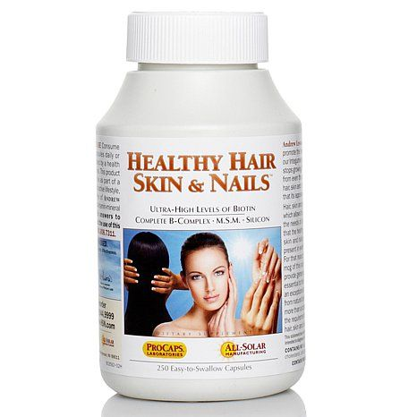 Lessman Healthy Hair, Skin & Nails - 250 Capsules