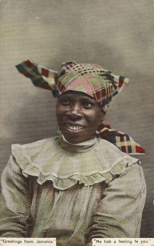 Jamaikan lady - Kingston
