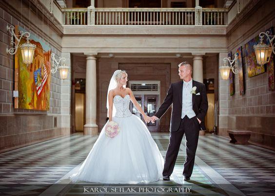 City Hall Hartford Wedding Photography Connecticut