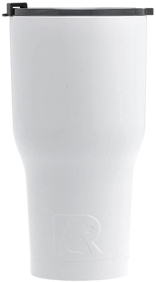 Rtic Double Wall Vacuum Insulated Tumbler 30 Oz Rtic Tumbler 30 Oz White Insulated Travel Stainless Steel Mug Hot O Rtic Tumblers Insulated Tumblers Rtic
