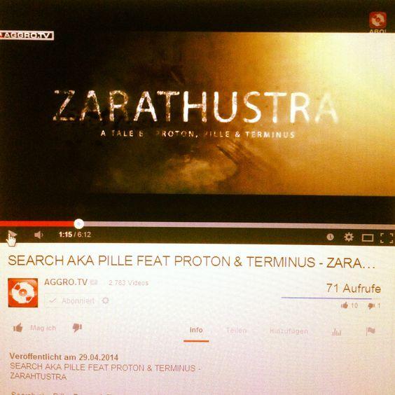Zarathustra Video vom Pille feat. Proton und Terminus jetzt online auf AGGRO TV   http://www.youtube.com/watch?v=EKoE9yeUt0c   #searchakapille #mixtape #free #download #searchakapille .com