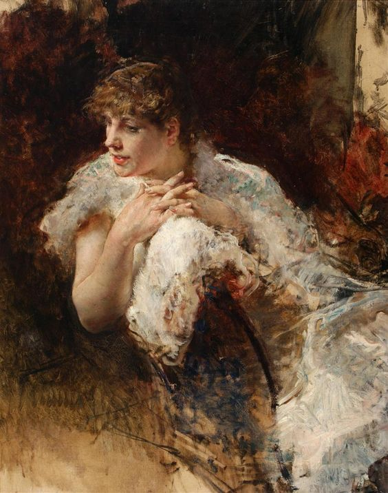 Giuseppe de Nittis18/30 A Lady from Naples (unknown)