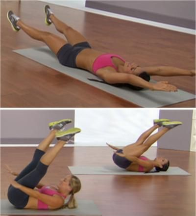 10 Moves for a flat stomach from @Shape_Magazine