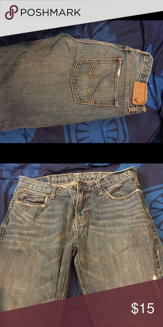 AmericanEagle men pants American Eagle straight pants Jeans