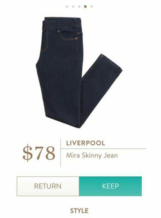 Elastic waistband on jeans!!