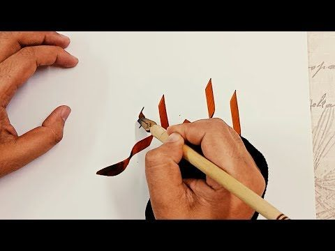 تحية إلى شعب الجزائر كيف تكتب كلمة الجزائر بخط الرقعة Youtube Calligraphy Video Calligraphy