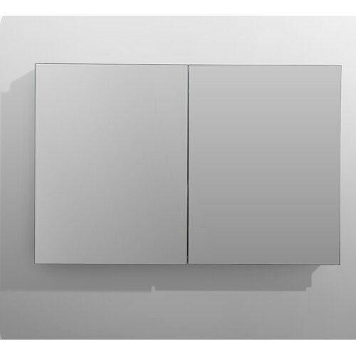 Kemp Surface Mount Frameless Medicine Cabinet With 3 Adjustable
