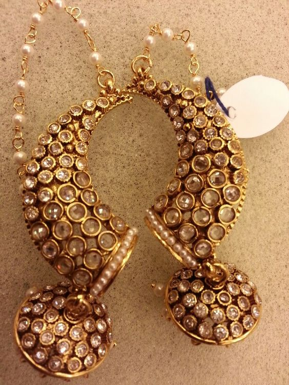 Gold Jhumka Design