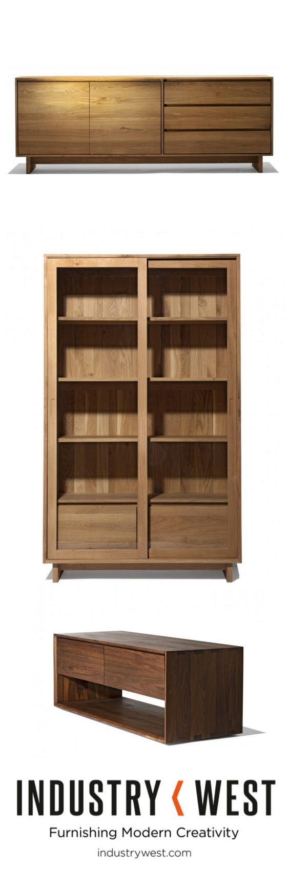 Sideboards hutches consoles and other storage options