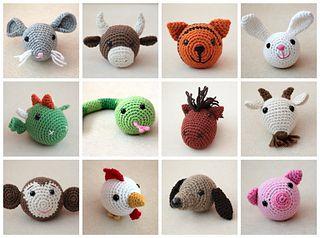 Chinese Zodiac Animals (Chinese New Year) pattern by ...