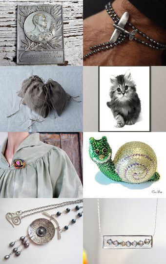 Beautiful gray gifts. by Stavros Dragatakis on Etsy--Pinned with TreasuryPin.com