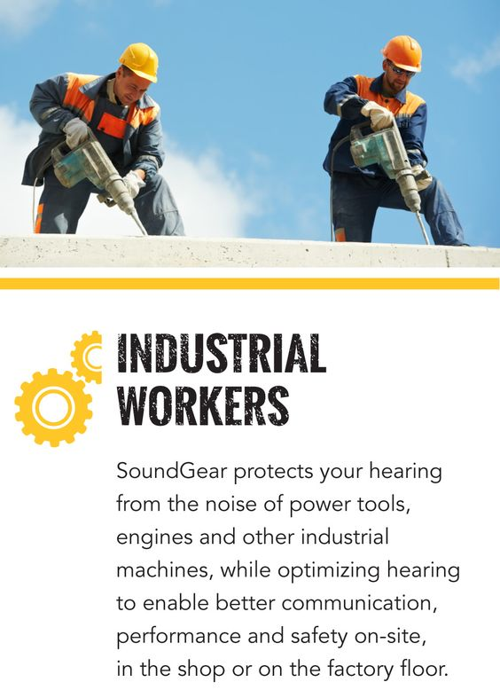 SoundGear for industrial workers
