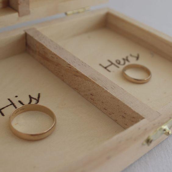 """Caja """"El y Ella"""""""