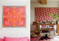 DIY HOME: FRAMED SCARVES