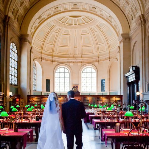 Say I Do at these 15 Visually Stunning Boston Wedding Venues.