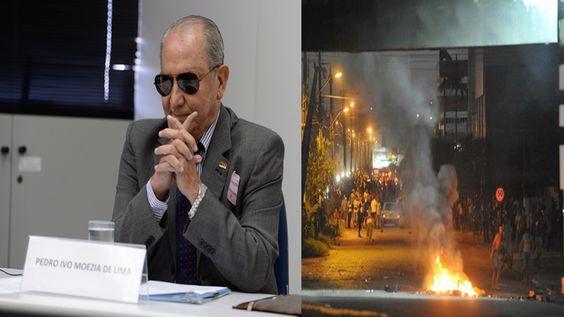 Folha Política: Coronel responde a ameaça de Lula, diz que Brasil já está em guerra civil e que lutará até a morte