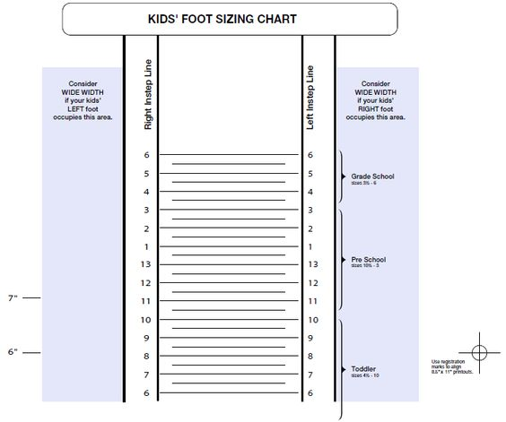 new balance printable shoe size chart | Philly Diet Doctor, Dr ...