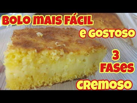 Bolo Ultra Cremoso No Liquidificador Rapidao Fuba Youtube