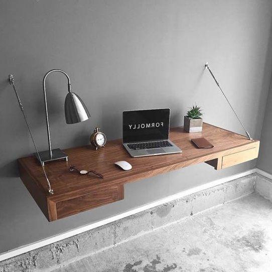 Furniture Best 25 Floating Desk Ideas On Pinterest Rustic Kids For Popular Household Office Prepare Target Floating Corner Desk Desk Furniture Floating Desk