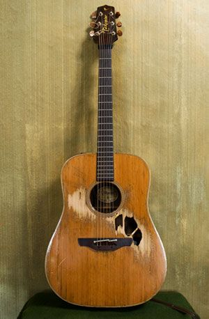 I love Glen Hansard's guitar.  It reminds me to make the best of what I have…