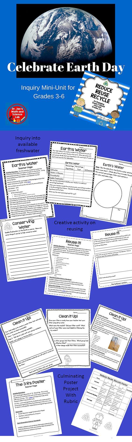 Reduce reuse recycle activities - Celebrate Earth Day With These Ngss Aligned Activities Students Will Gain A Clear Understanding Of