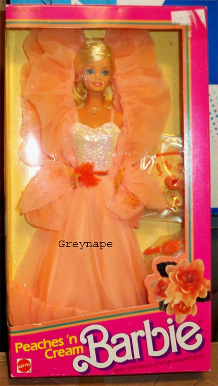 Peaches and Cream Barbie--my first Barbie ever!