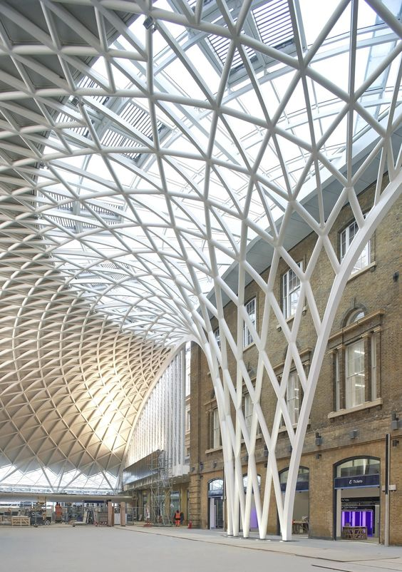 The new Western Concourse at King's Cross http://www.archello.com/en/project/western-concourse-kings-cross: