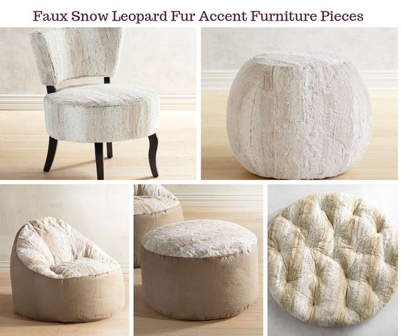 Faux Snow Leopard Collection