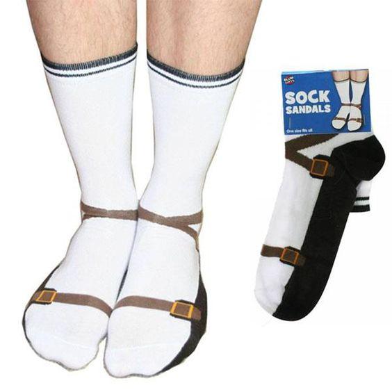Sock sandals ;D