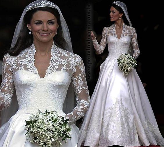 vestido de noiva da kate middleton - Pesquisa Google