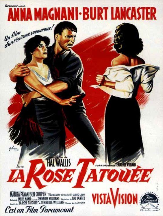 1956 LA ROSE TATOUEE