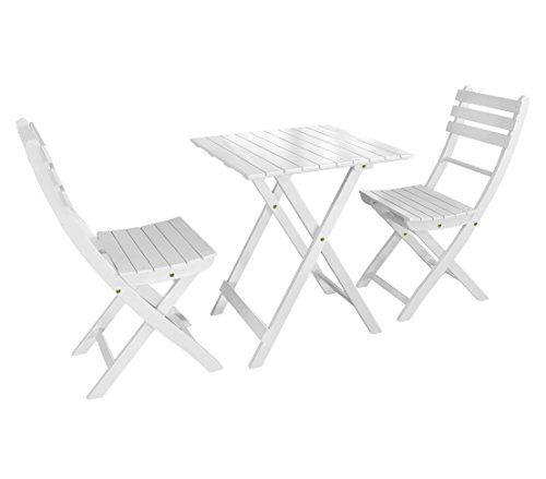 Dehner Balkonset Provence Tisch Ca 71 X 60 X 60 Cm 2 Stuhle Je