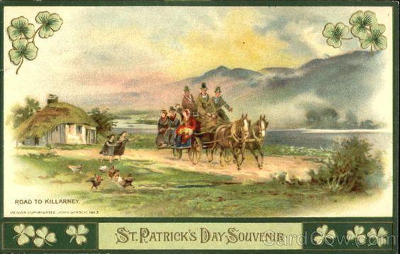 Road To Killarney St. Patrick's Day Souvenir