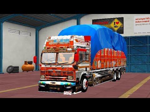 Indian Tata Truck Mod For Bus Simulator Indonesia Tata Truck Game Tata Truck Mod For Bussid Youtube Truck Mods Truck Games Trucks