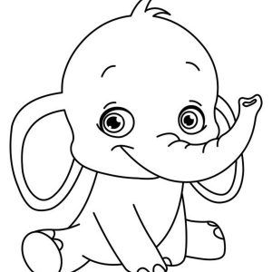 Pictures To Colour In For Children Printable Unique Coloring Pages Coloring Pages For Kids P Elephant Coloring Page Emoji Coloring Pages Easy Drawings For Kids