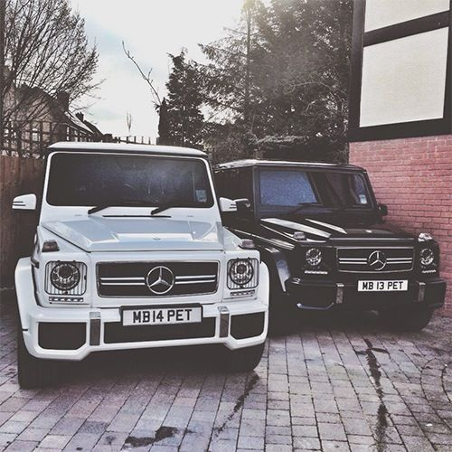 Mercedes G Wagon. I would totally get one black & the other white. Just for me.