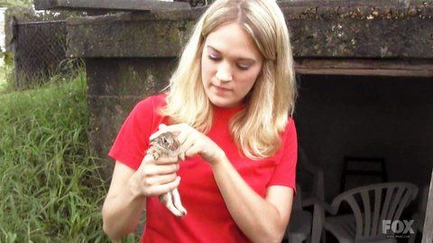 Her love of animals is priceless ;)
